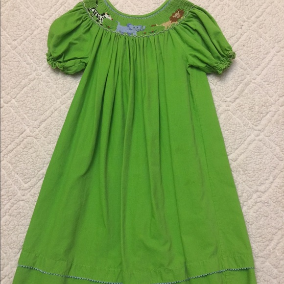 Anavini Other - Anavini Animal Smocked Dress